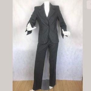 Escada Pants Blazer Suit Wool Blend size 36 6